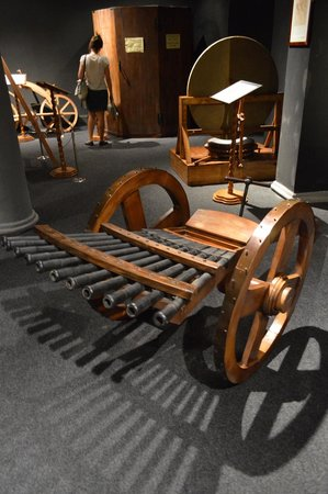 Leonardo Da Vinci Machines: Da Vinci's Machine Gun