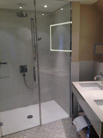 Hotel Sans Souci Wien: Das ist endlich einmal eine Dusche !!!