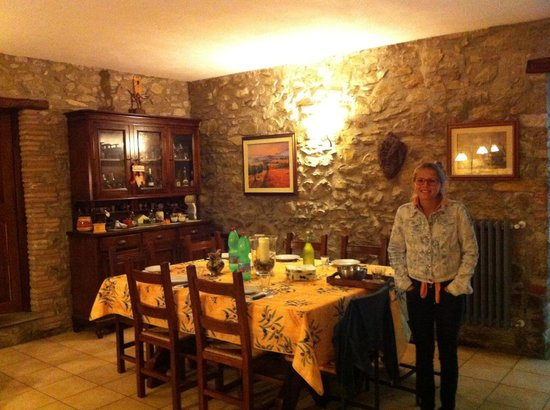 Antica Olivaia: Dining area