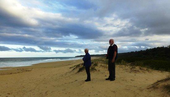 BIG4 Moruya Heads Easts Dolphin Beach Holiday Park: A beautiful beach
