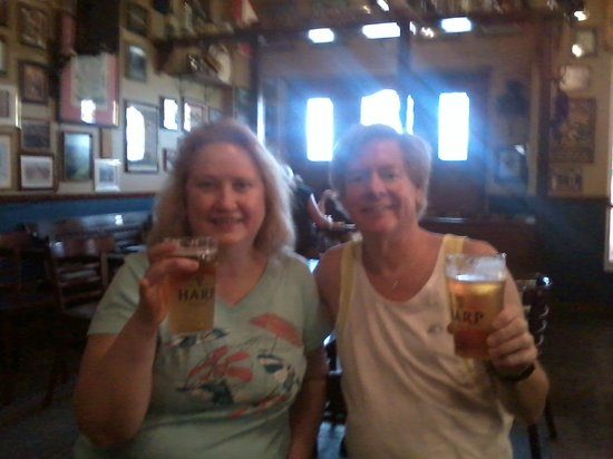 Wonderful lunch at Nolan's Irish Pub