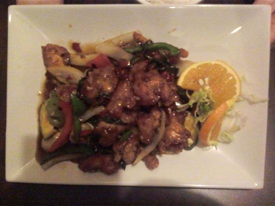 Sa Wad Dee Thai Restaurant: Chrispy Basil Chicken