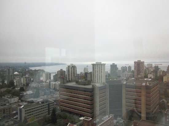Sheraton Vancouver Wall Centre: view from my room
