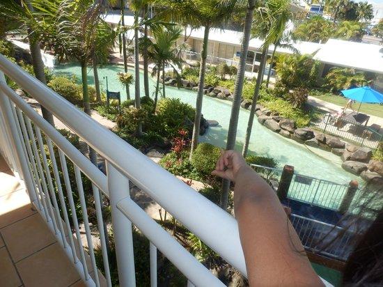 Breakfree Alexandra Beach Premier Resort: View from 3rd floor