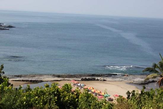 Ozran Heights Beach Resort: View from Room