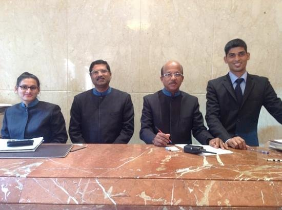 Regent Hotel Colaba: the friendly and wonderful management team.
