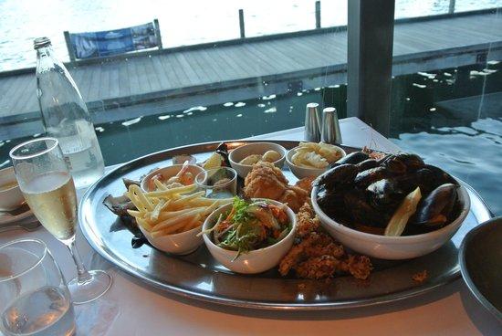 the seafood platter picture of fremantle mussel bar. Black Bedroom Furniture Sets. Home Design Ideas