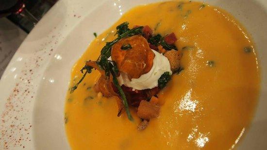LES PAPILLES : 1st Course - Pumpkin Soup
