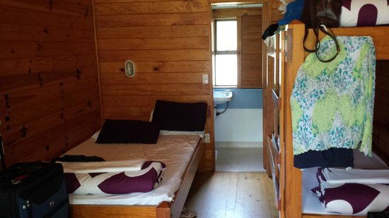 Rotorua Thermal Holiday Park: Inside of Cabin