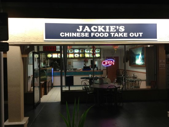 Jackie's Chinese Restaurant : chinese food