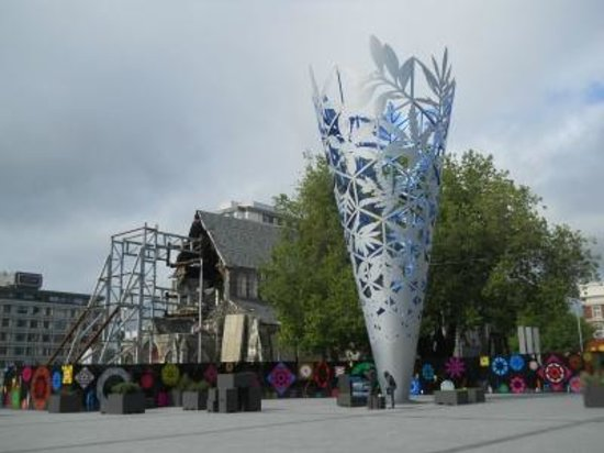 Red Bus - Rebuild Tour: Christchurch Cathedral