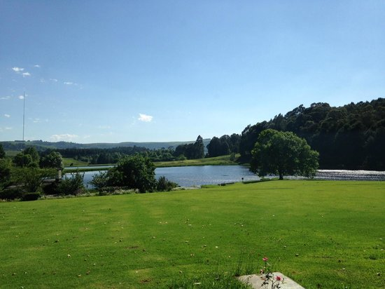 Rawdons Hotel & Estate: View from room 5 across the lawn