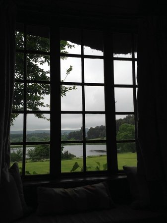 Rawdons Hotel & Estate: View from the bed in room 5