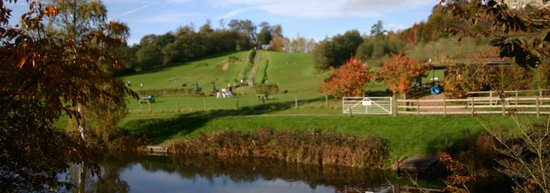 Nutfield, UK : Our beautiful surroundings. Copyright Ride The Hill 2013