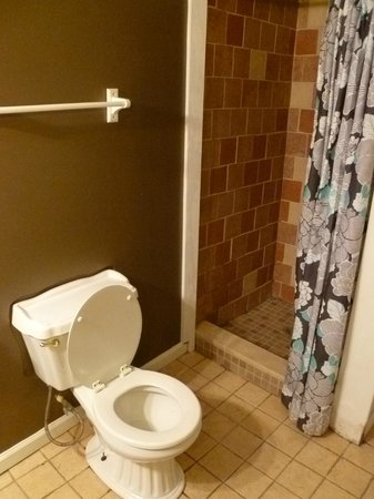 Indy Hostel : Shared bathroom for private rooms