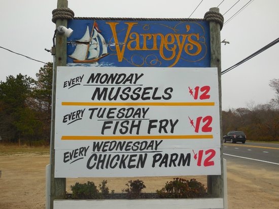 Varney's Restaurant: Looking for value