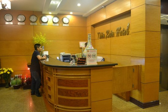 Thien Xuan Hotel: Welcome/Reception Counter
