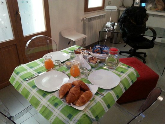 Sogni d'Oro : Prima colazione.....