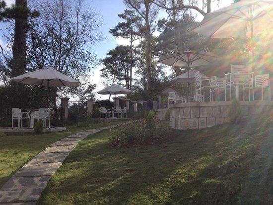 ZEN Cafe & Villa: garden