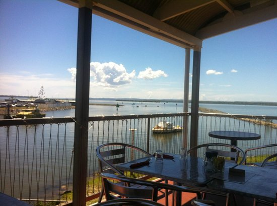 Pelican's Cafe: View off the deck