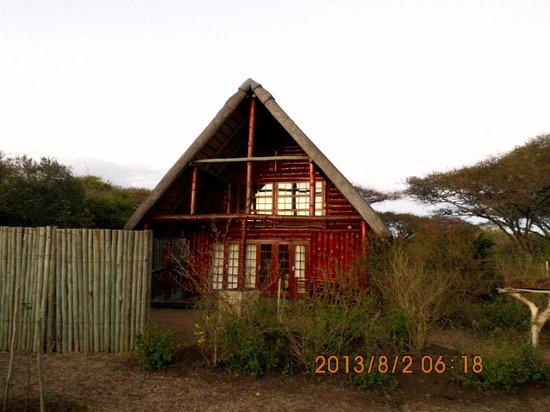 Rhino River Lodge : nasz domek