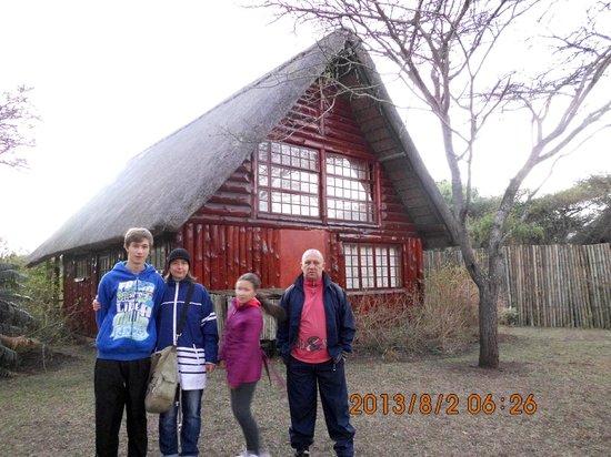 Rhino River Lodge: Nasz domek