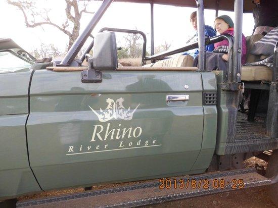 Rhino River Lodge: nasz pojazd