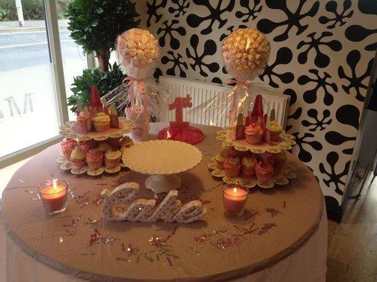 The Printroom Cafe Bar: Beautiful 1st birthday table !!