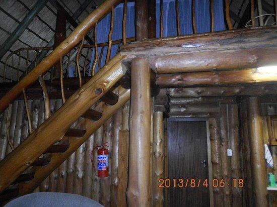 Rhino River Lodge: wnętrze