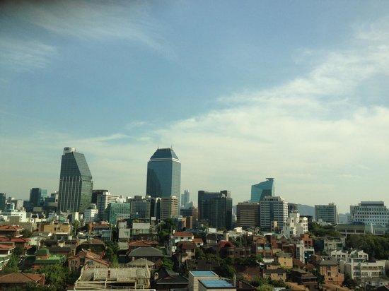 Novotel Ambassador Seoul Gangnam: (center) Panaramic View from 12 floor