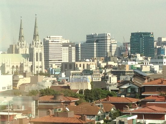 Novotel Ambassador Seoul Gangnam: (far Left) - Panaramic View from 12th floor