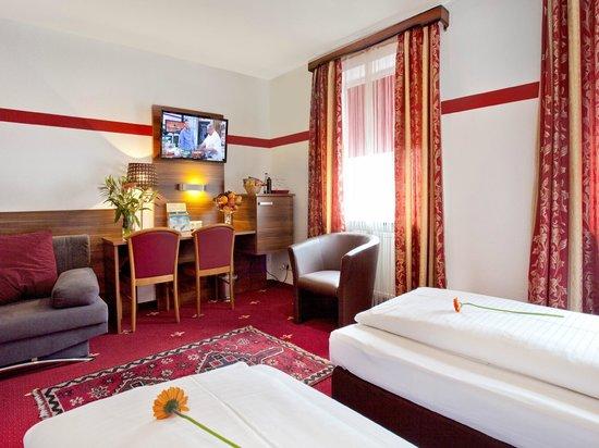 Hotel Burgschmiet: Doppelzimmer