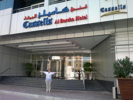 Cassells Al Barsha Hotel: возле отеля