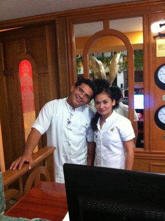 Hotel Cozumel and Resort: Fantastic front desk