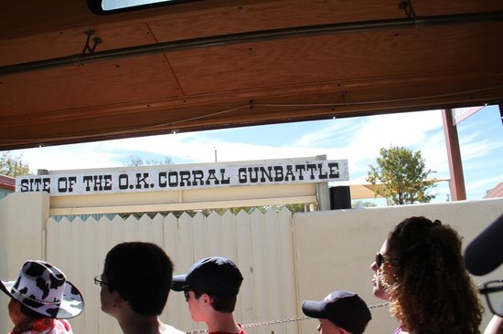 Tombstone Trolley Tour: The O.K. Corral