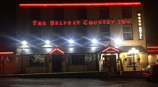 The Belfray Country Inn: Night view