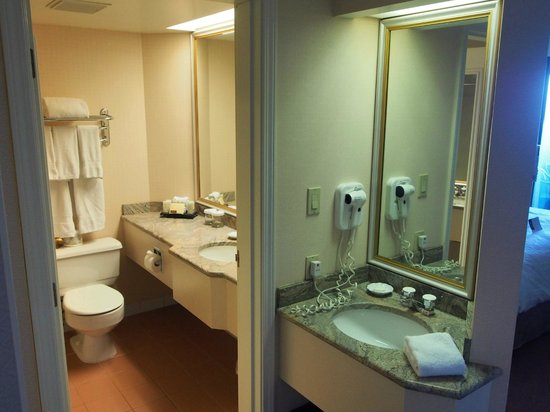 Hotel Grand Pacific : Bathroom & Extra Basin