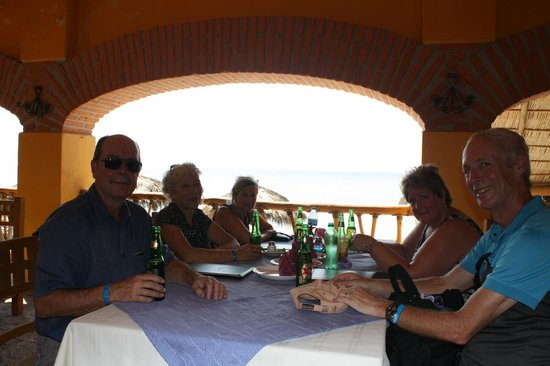 El Chivero Restaurant & Bar : Shaded  & Great View