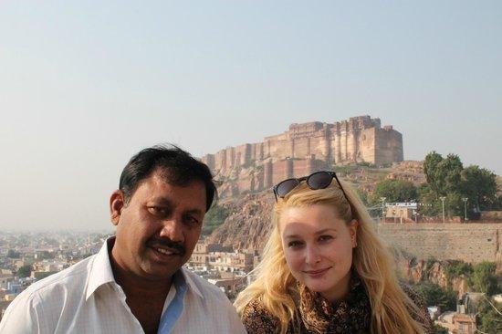 Hotel Ajanta: En face du fort de Jodhpur