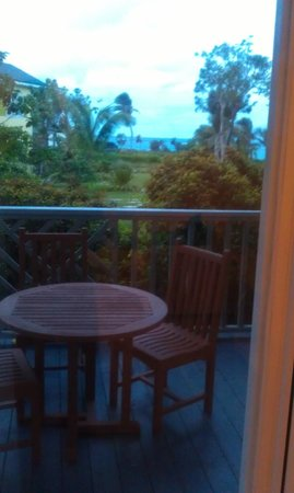 Pineapple Fields Resort : view from our room