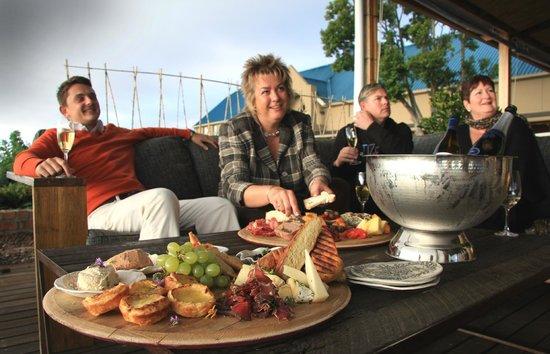 Longridge Restaurant: Some of our guests enjoying sundowner platters