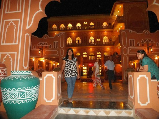 the camel - Picture of Chokhi Dhani Restaurant, Panchkula ...