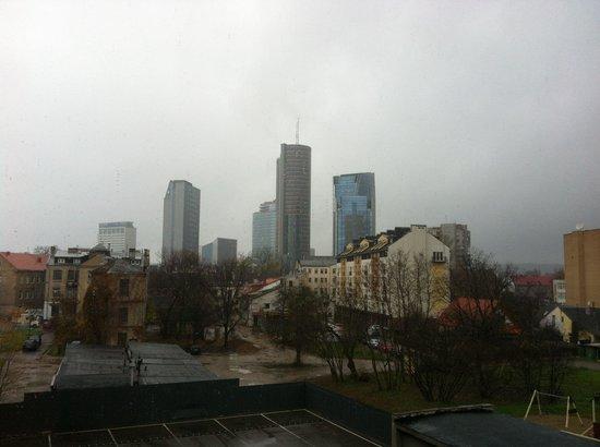 Ecotel Vilnius : Вид из окна