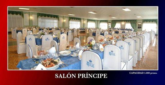 Hotel and Restaurant Royal: Salón para eventos