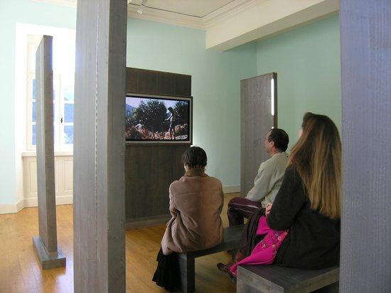 Salle vidéo du Chateau de Seix