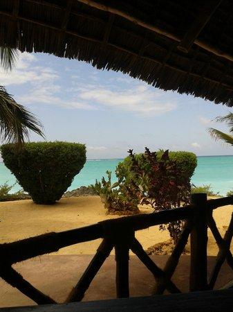 Tanzanite Beach Resort: Aussicht vom Essensbereich
