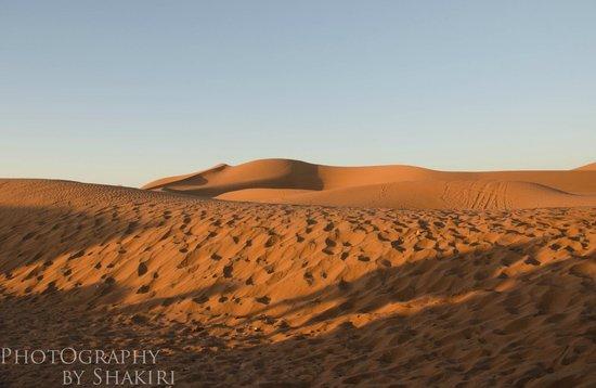 Chegaga Bivouac : dunes de chegaga