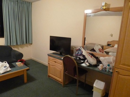 Adelaide International Motel: Flat screen TV