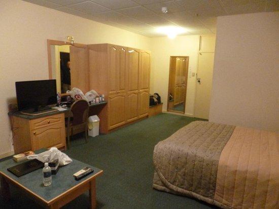 Adelaide International Motel: Spacious twin room