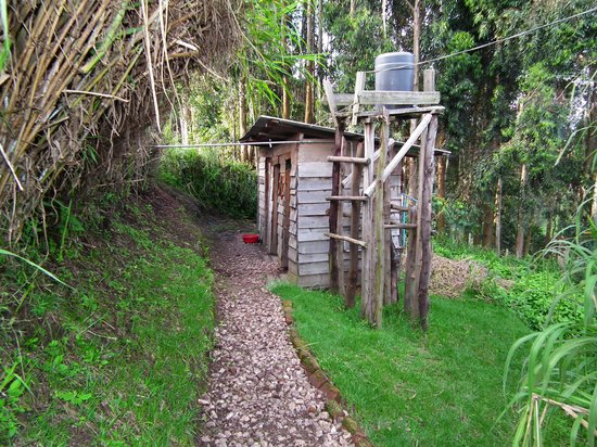 Ruhija Gorilla Friends Resort and Campsite : The Toilet Block